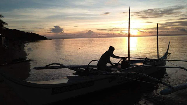 sunrise in calatagan batangas