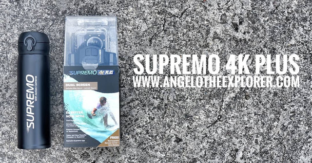 supremo 4k plus action camera