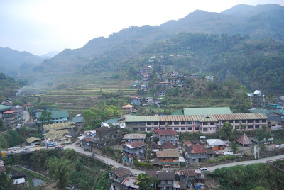 view of banaue from our room