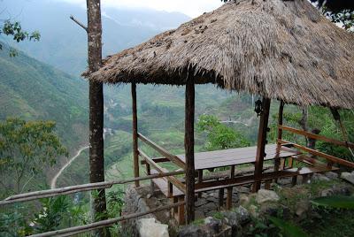 beautiful view of banaue rice terraces
