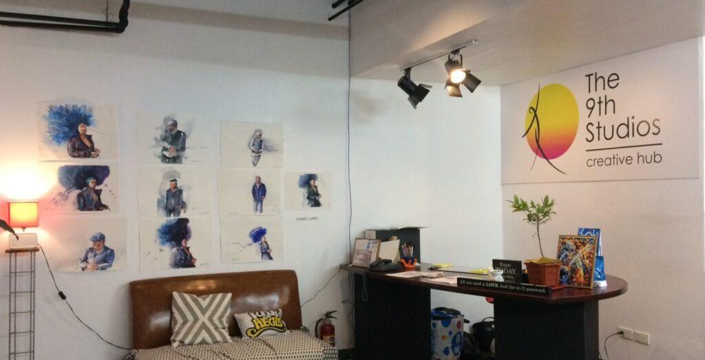 9th studios creative hub makati city