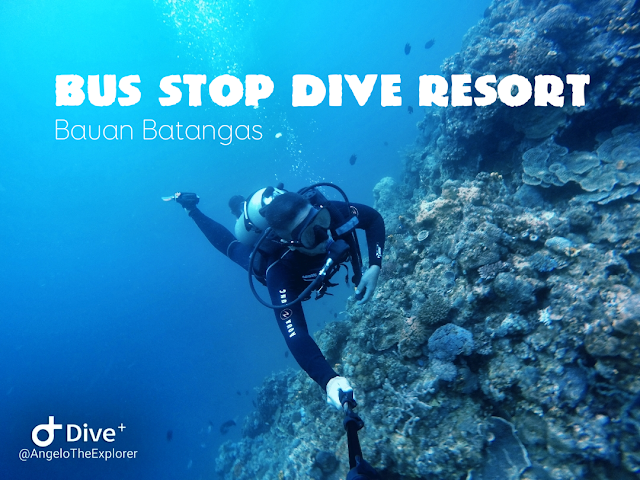 bus-stop-dive-resort-bauan-batangas