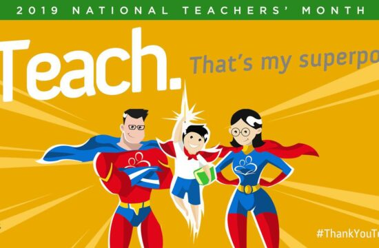 2019 national teachers month celebration