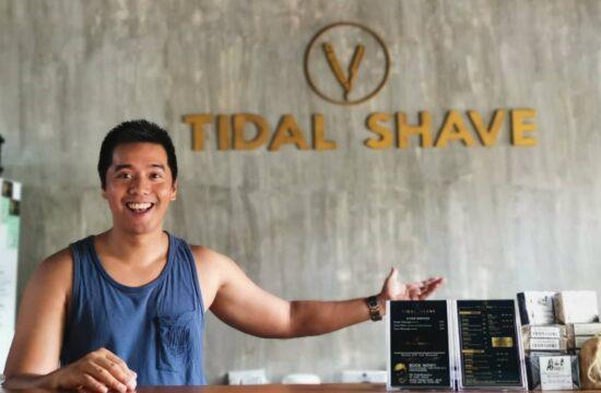 tidal shave barbershop in san juan la union