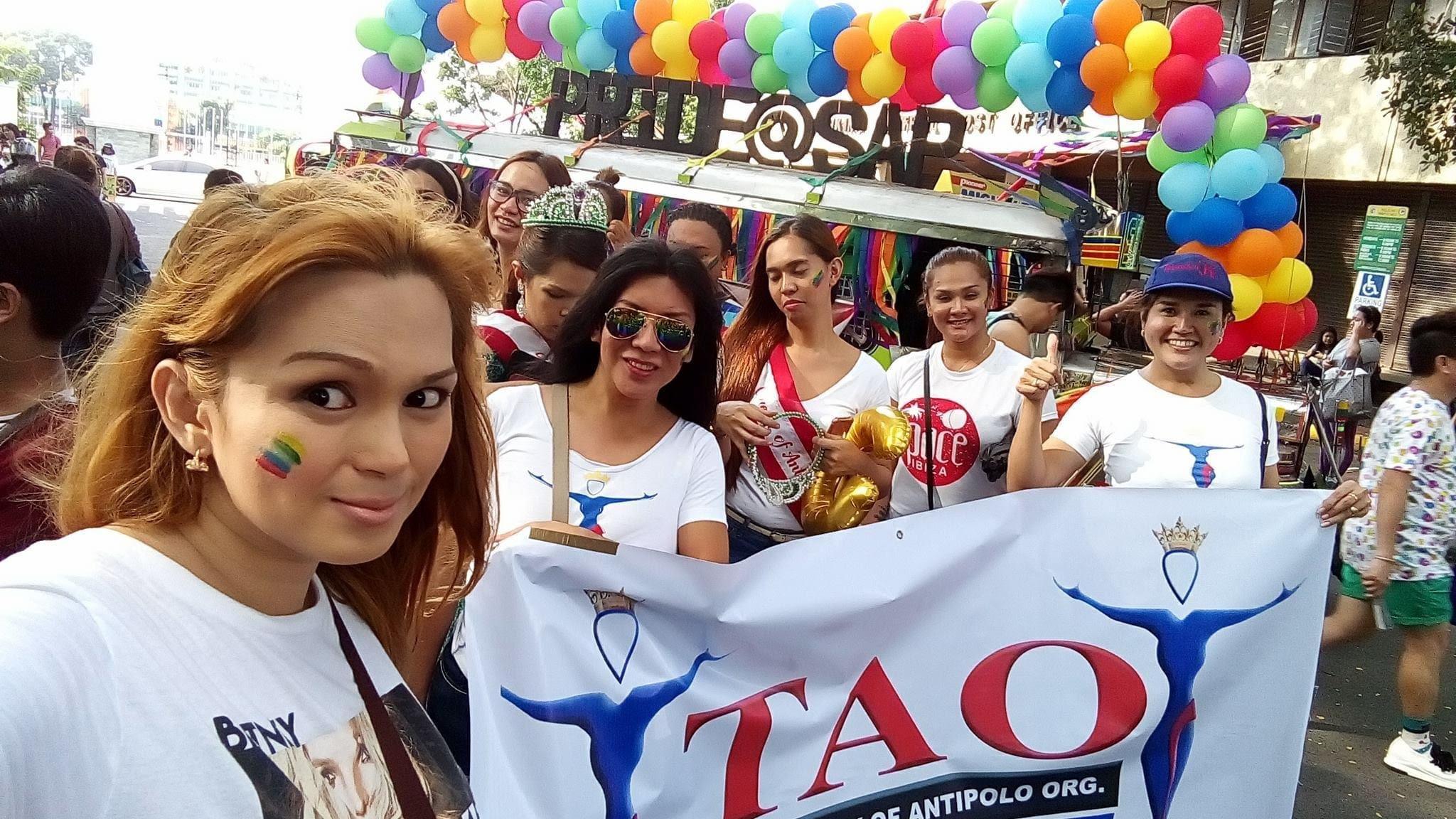 Kristine Ibardolaza_Pride Celebration with TAO