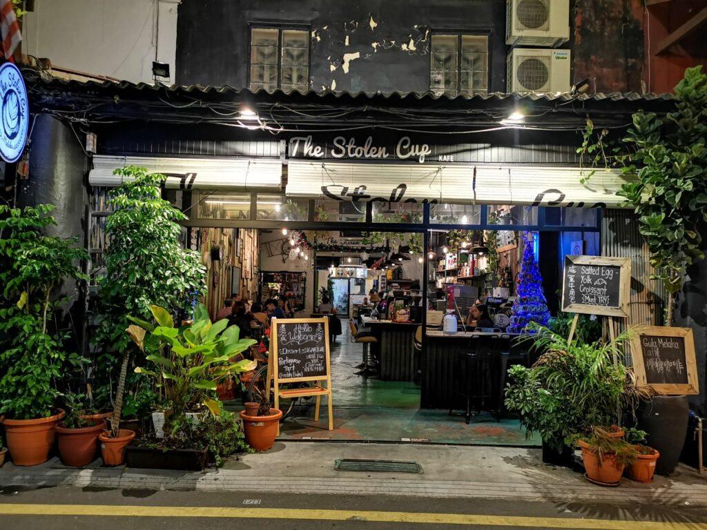 stolen cup jonker street Malacca malaysia