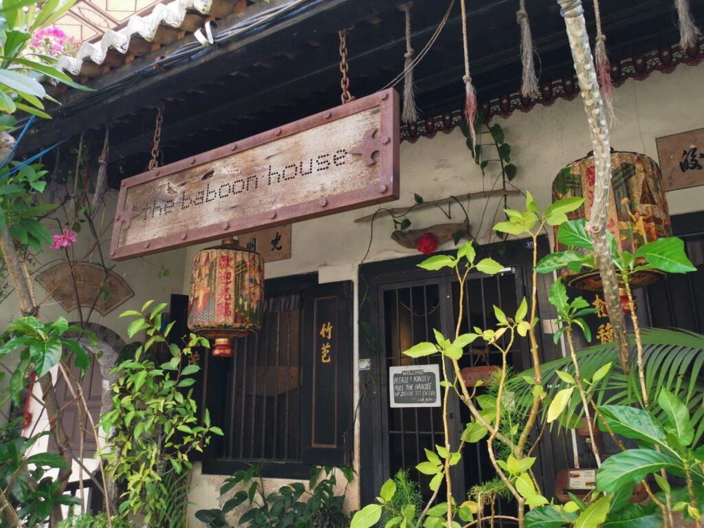 baboon house malacca malaysia