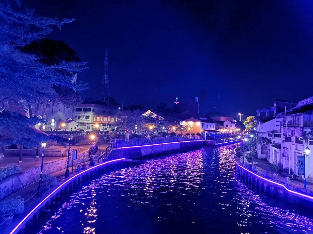 malacca at night