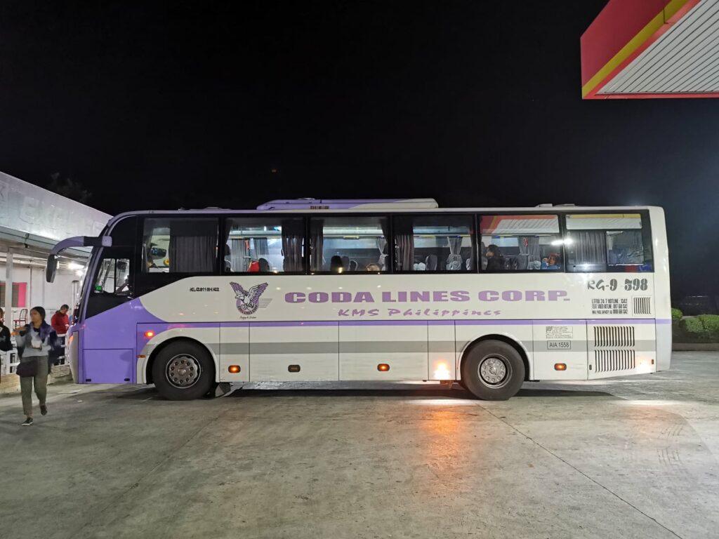 coda lines bus banaue