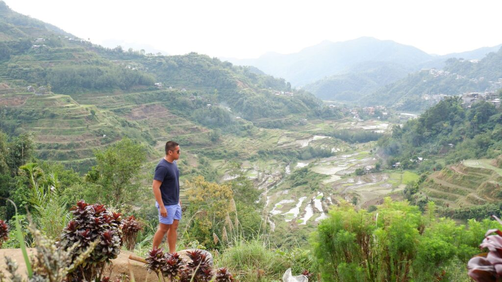 banaue rice terraces view deck