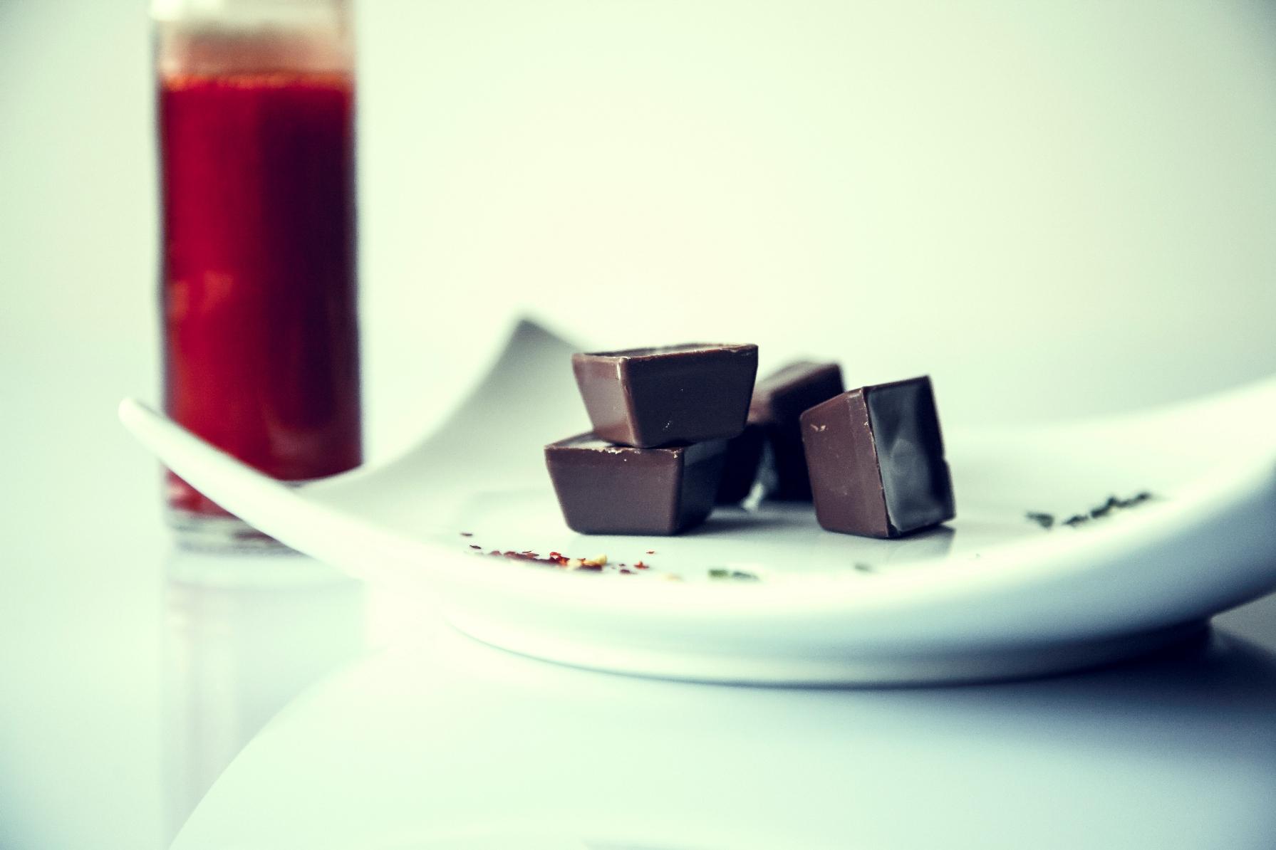 schokoladen scharf / hot chocolate