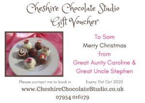 Chocolate Gift Vouchers