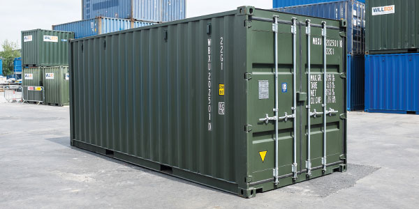 Brighton Green shipping container