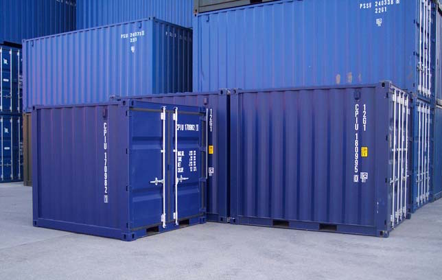 Sizes of Containers