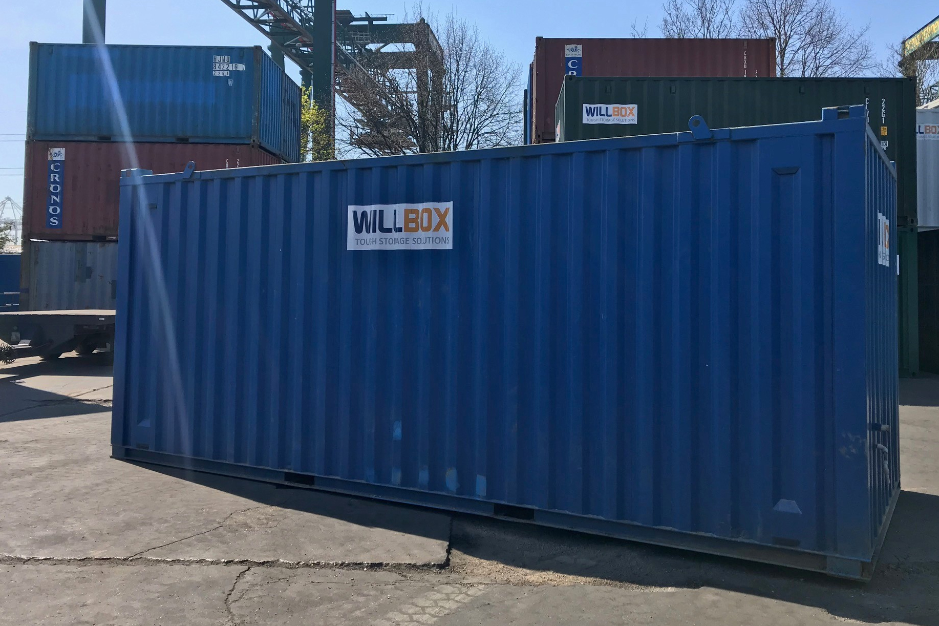 Used Willbox shipping container