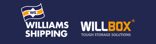 Williams Shipping and Willbox Logos