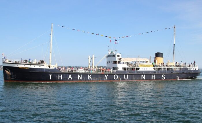 Support SS Shieldhall