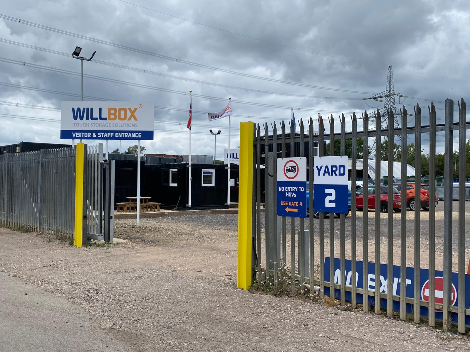 Willbox Nursling Site Gates