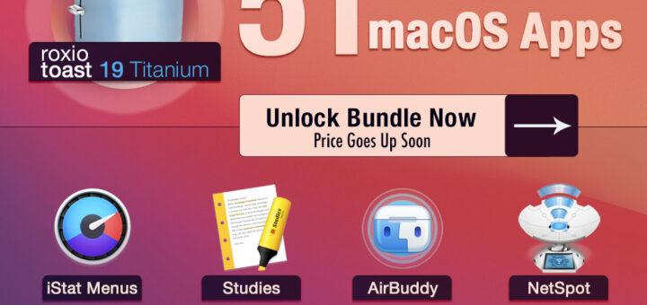 【2021 BundleHunt Epic macOS Bundle】史詩級超值到爆折扣又來了~正版Mac 軟件套裝,51款超夯Mac應用專業軟體特價中(2021.6.7 The 5 best apps to Get Things Done)