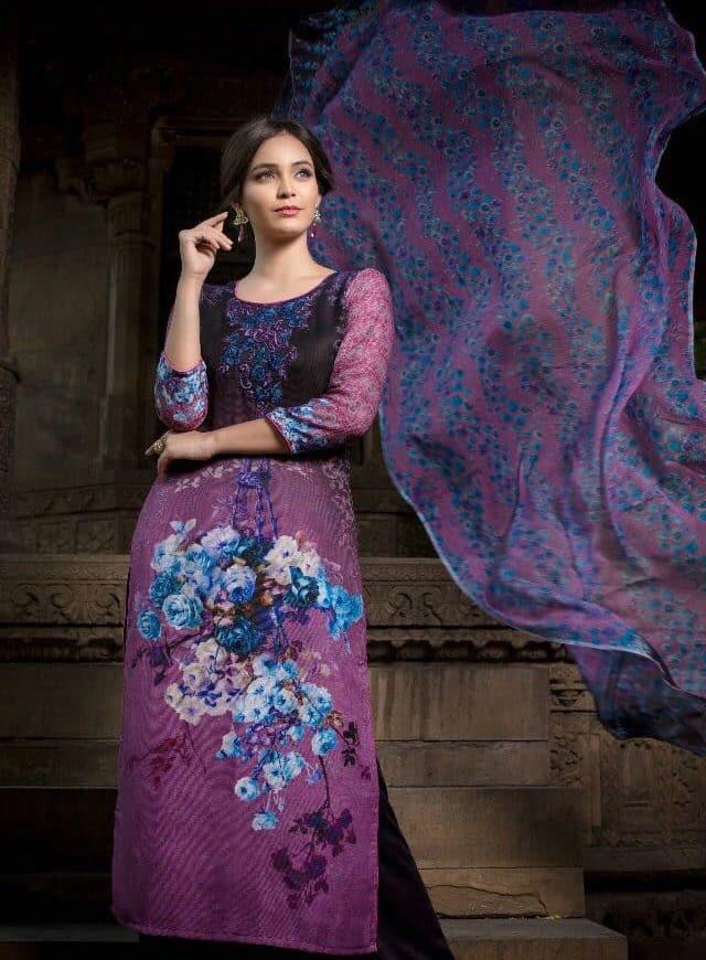 Royal Winter Wear Pashmina Salwar Suits