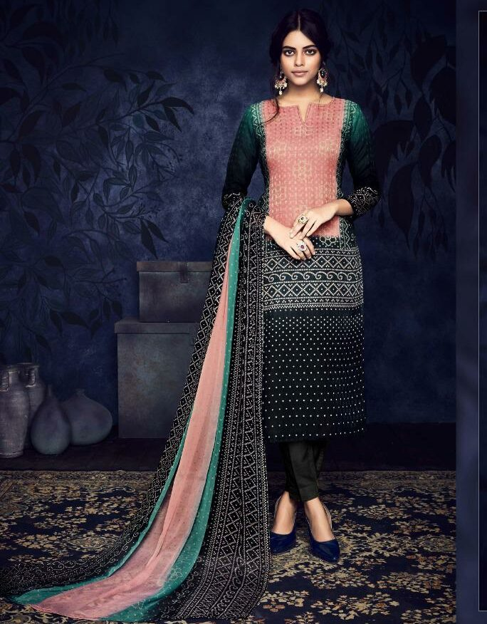 New Arrival Digital Jaipur Print Designer Salwar Suits