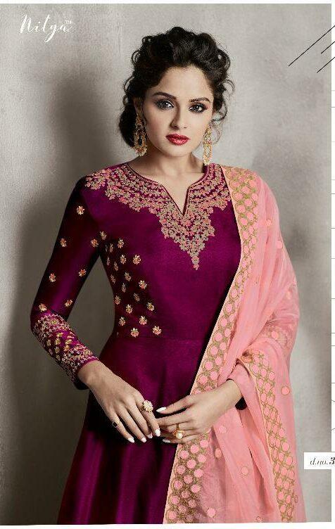 Shahi Wedding Wear Gown with Organja Dupatta
