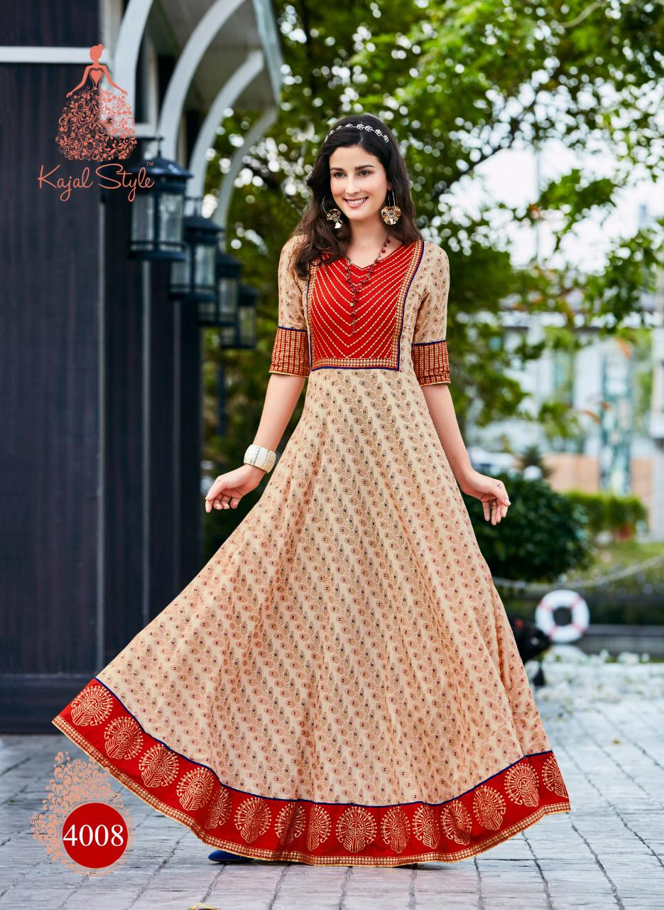 Latest Fashion Anarkali Style Knee Length Kurta
