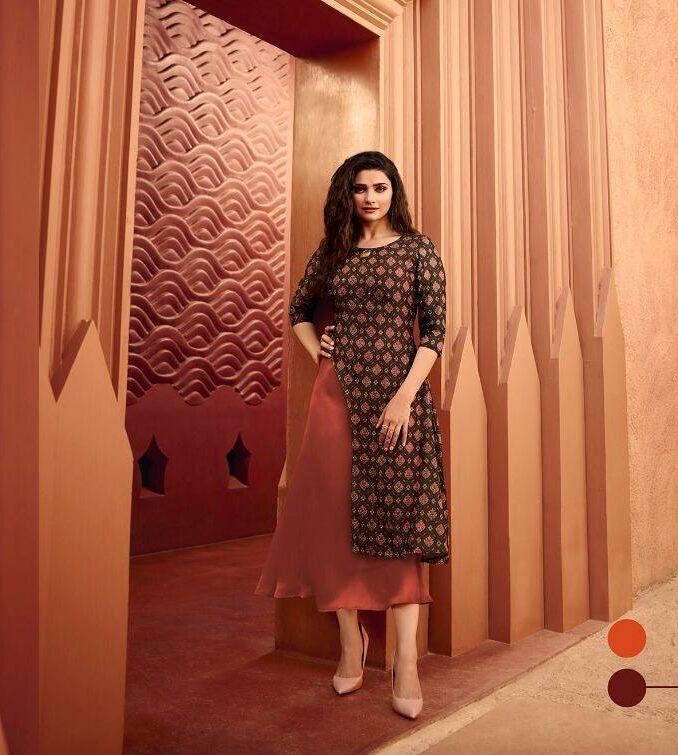 Indian Fashion designer Chocolate Kurti