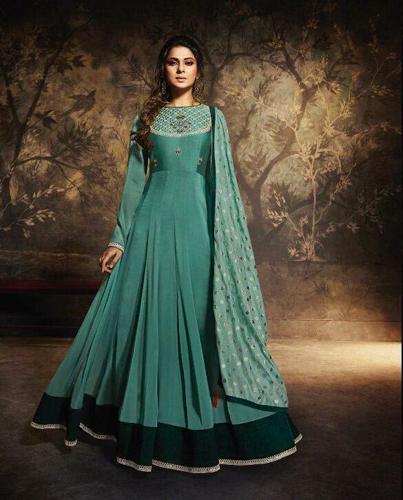 Party Wear Anarkali Mugdha Gown