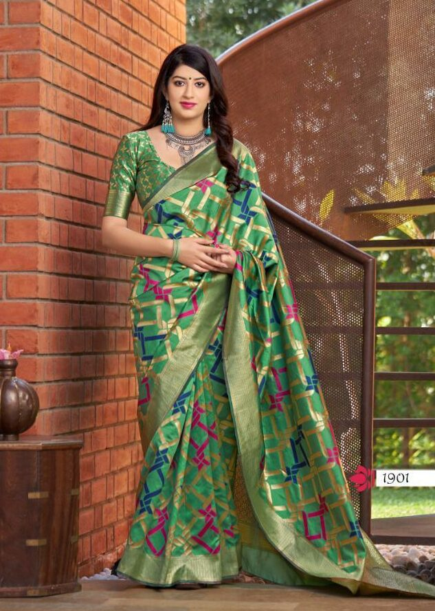 Banarasi Saree Look