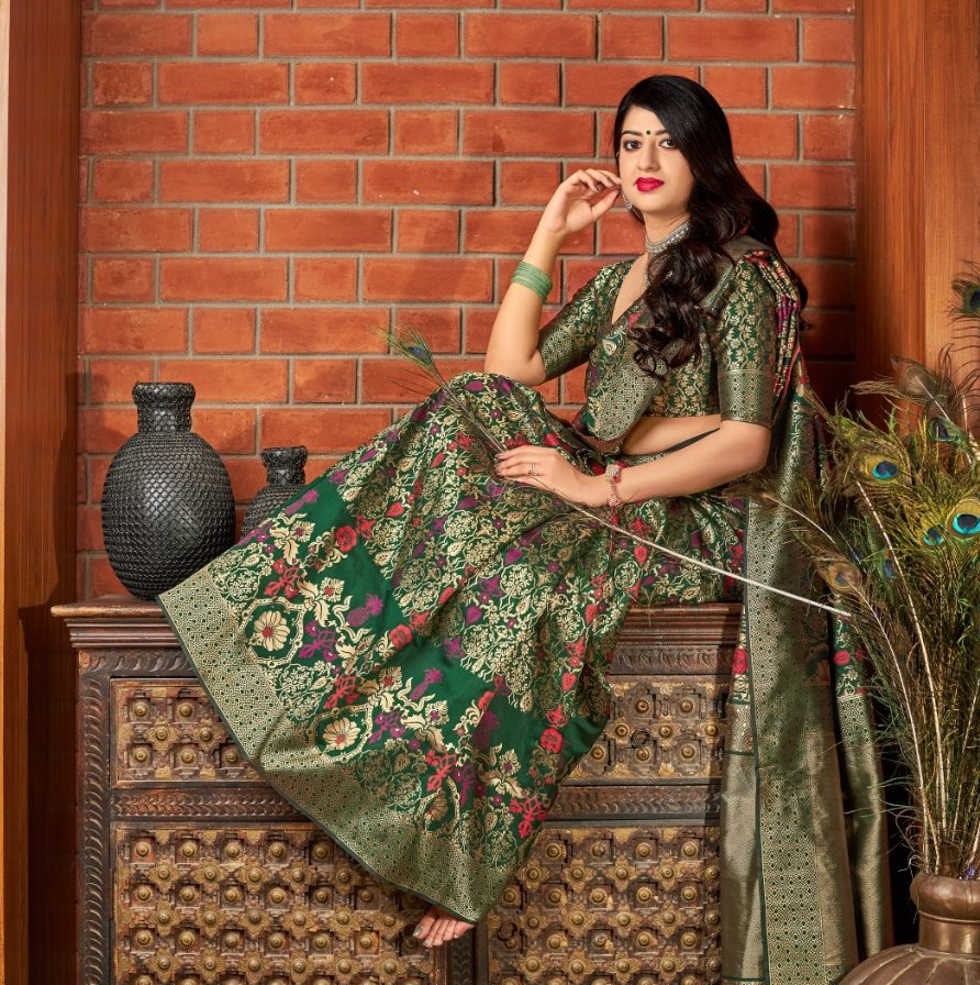 Banarasi silk Saree for Wedding