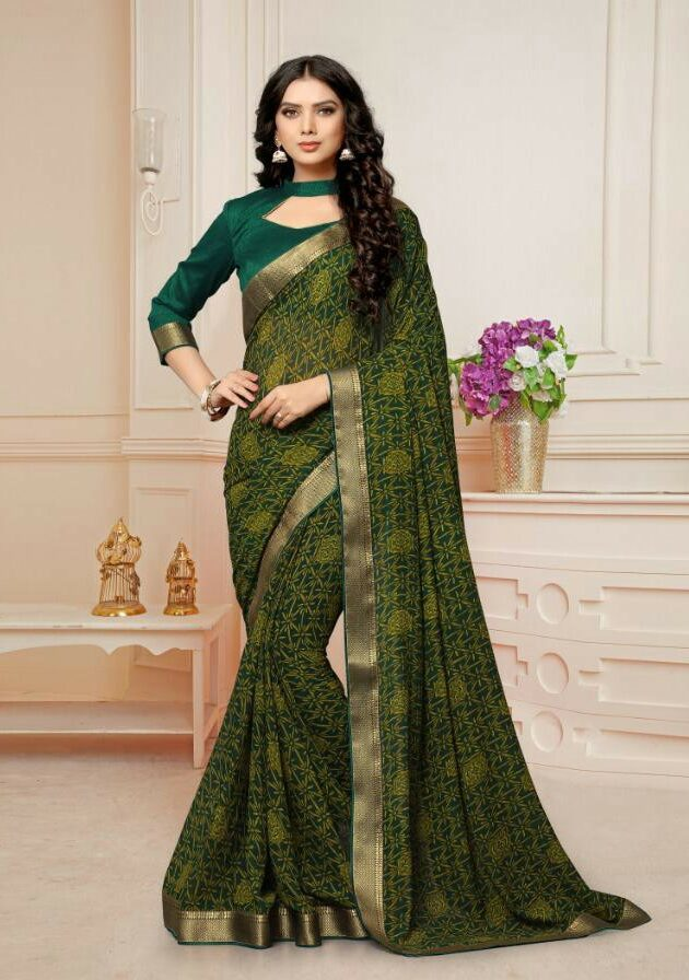 Daily Wear Georgette Saree