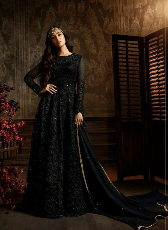 Images of Beautiful Long Gowns in Black
