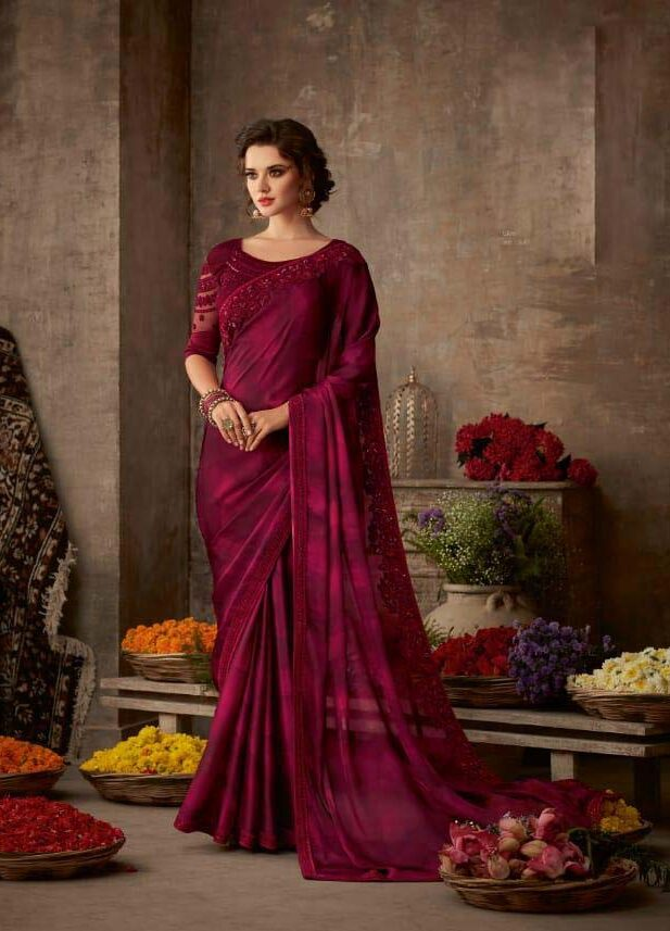 Latest Designer Sarees for Wedding