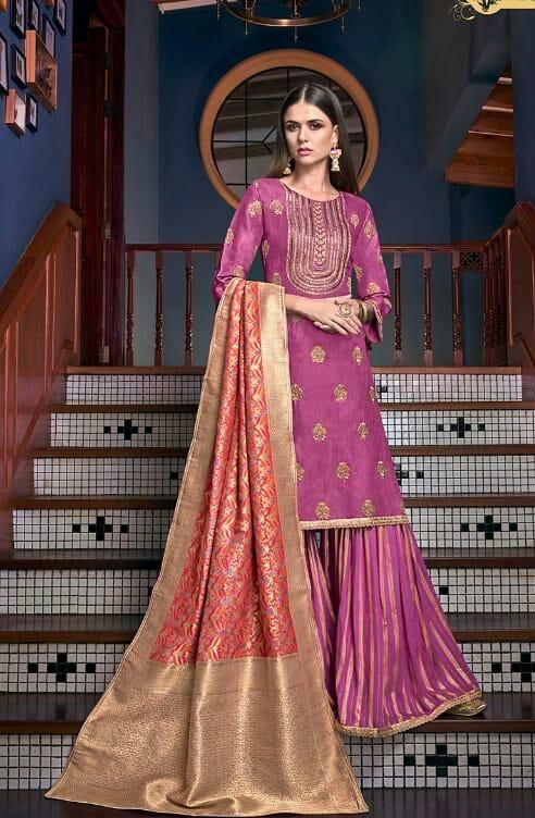 Sharara Dress Material