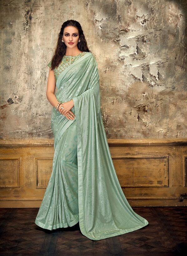Bollywood Royal Designer Party Wear Saree