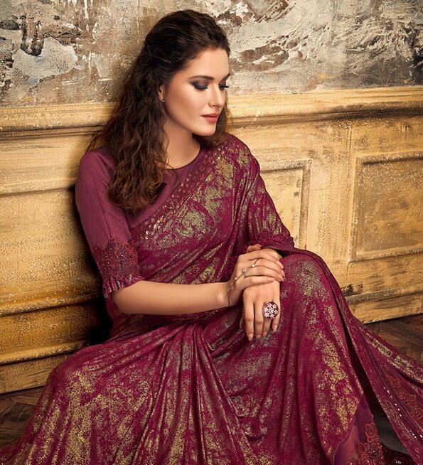 Designer Party Wear Saree Online