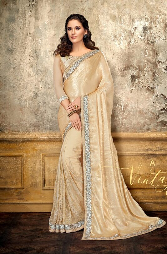 Fancy Designer Party Wear Saree