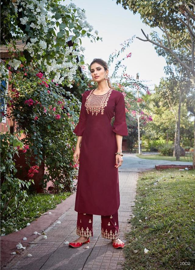 Indian Suits with Palazzo Pants