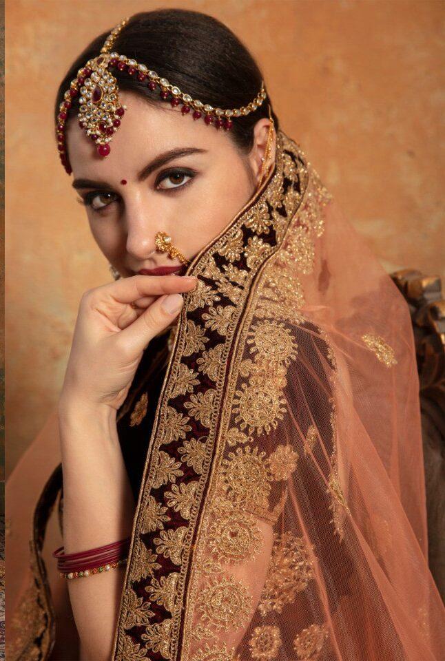 Latest Designer Bridal Lehenga Heavy