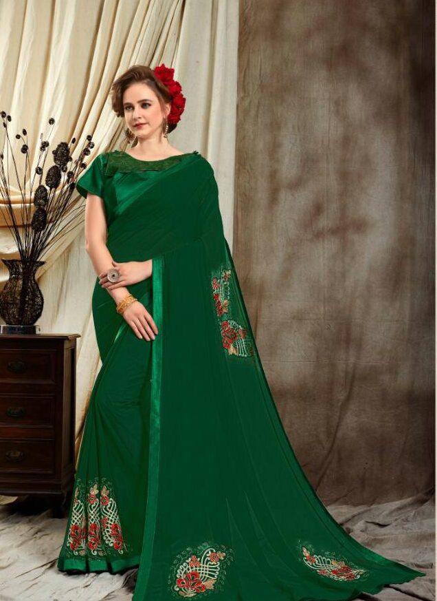 Simple Saree Blouse Designs