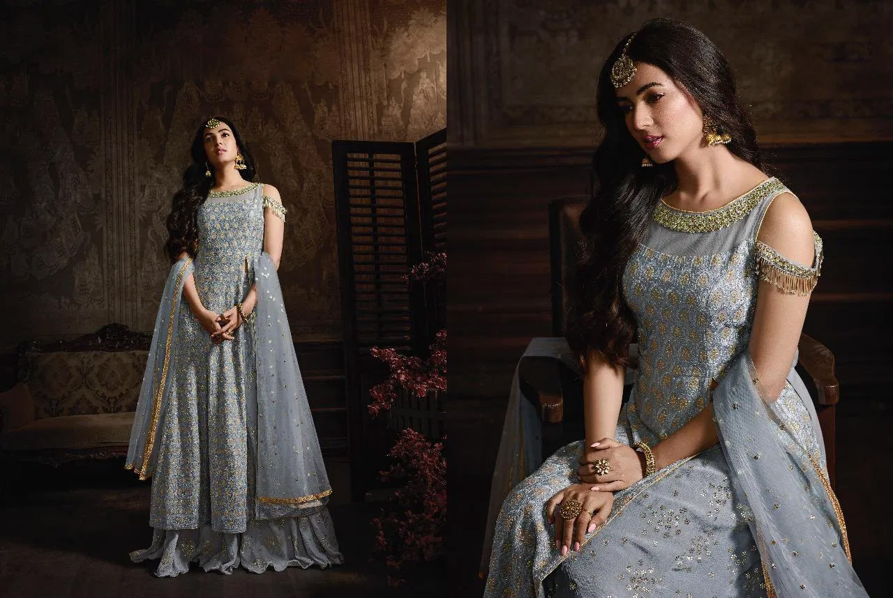 Enhance with Beauty Party Wear Anarkali Suits