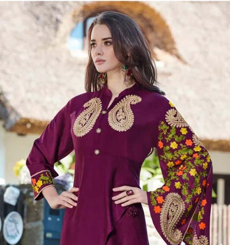 Indo Western Kurti for Female