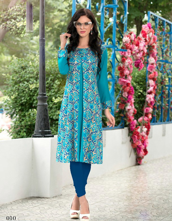 Cotton Kurtis Kurta for Daily Wear Full Sleeves
