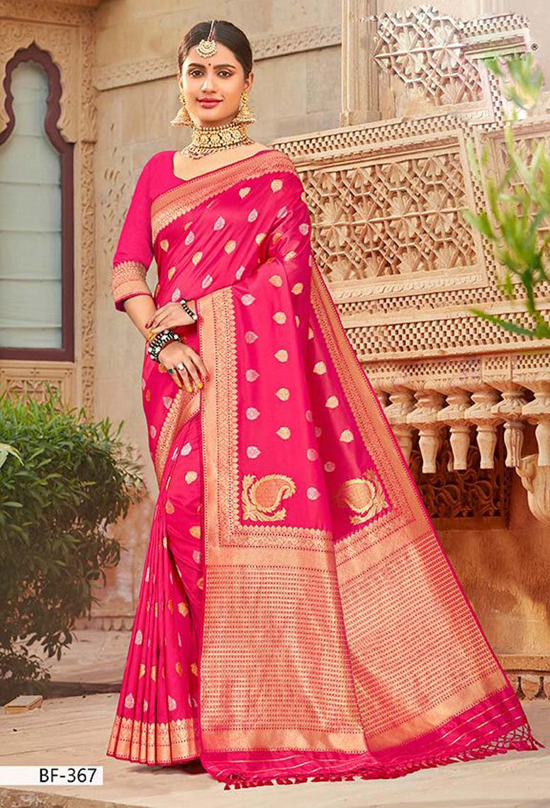 Designer Silk Sarees for Wedding Reception with Price