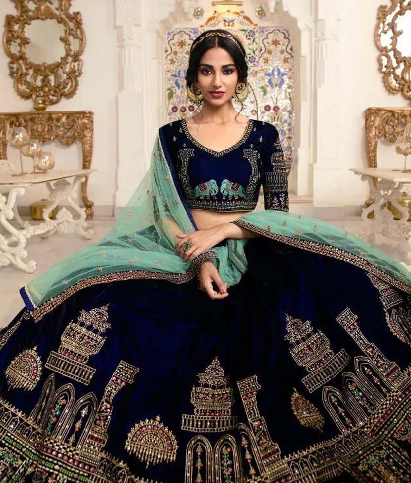 Latest Designer Lehengas Images