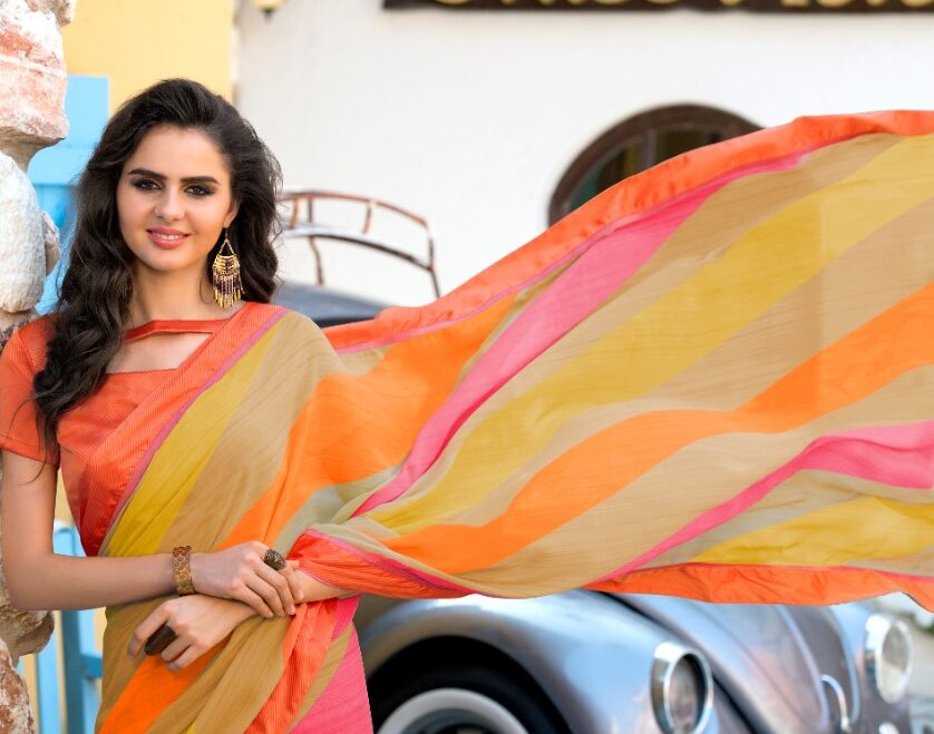 Designer Casual Wear Office Wear Sarees for Ladies