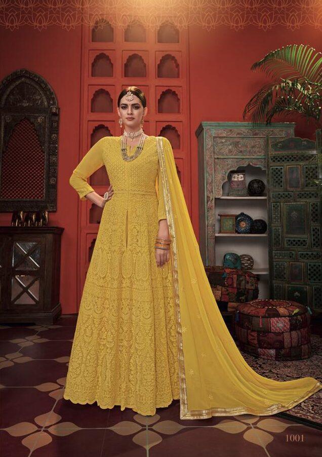 Haldi Ceremony Best Party Wear Indian Dresses for Teenage GIrl