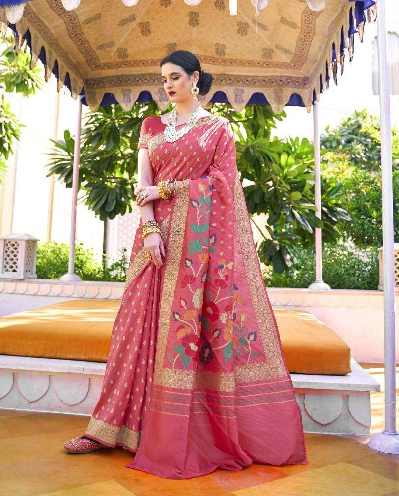 Latest Pure Silk Sarees for Party Wear