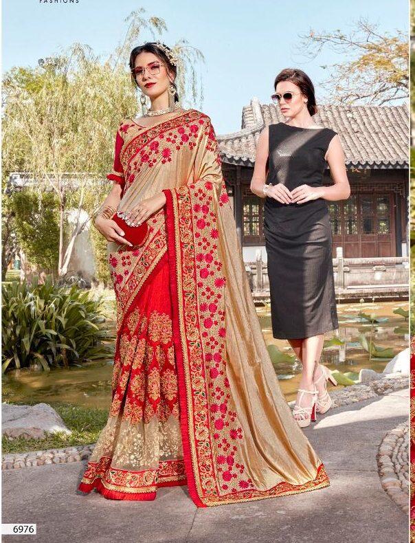 New Designer Bridal Saree Collection 2020
